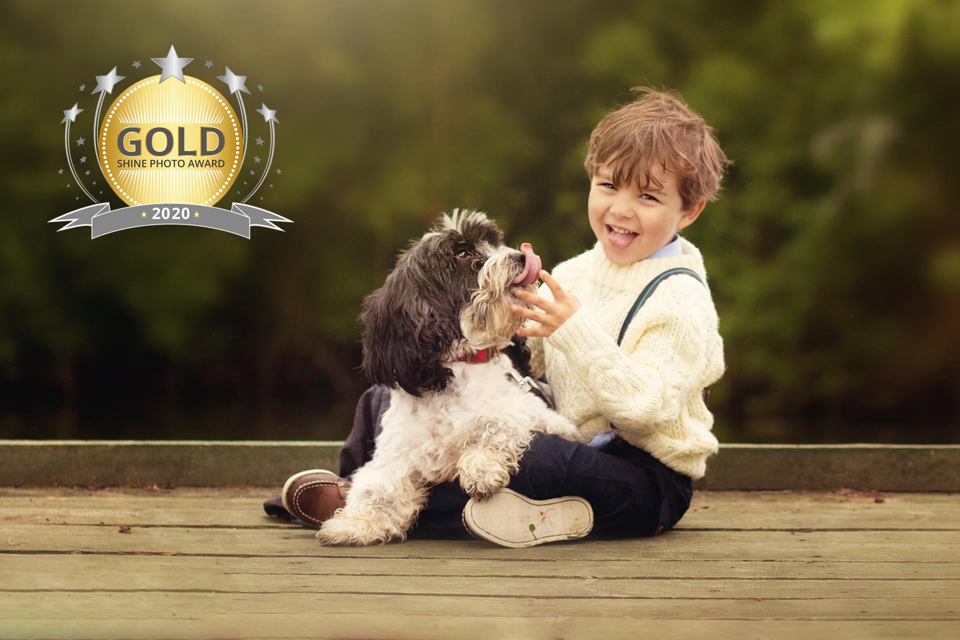 SHINE Photo Award - Gold Winner Child & Family